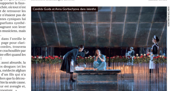Review in the Opéra Magazine