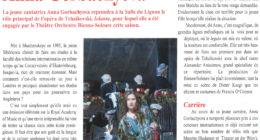 Anna's Portrait in Scènes Magazine